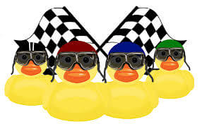 Duck-Race-with-Flags